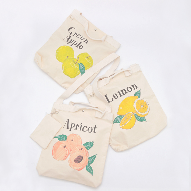 FRUIT TOTE BAG ¥9,800+tax / Drawing Numbers