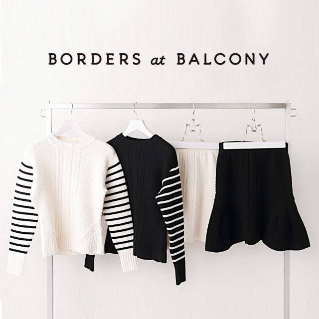 BORDERS at BALCONY