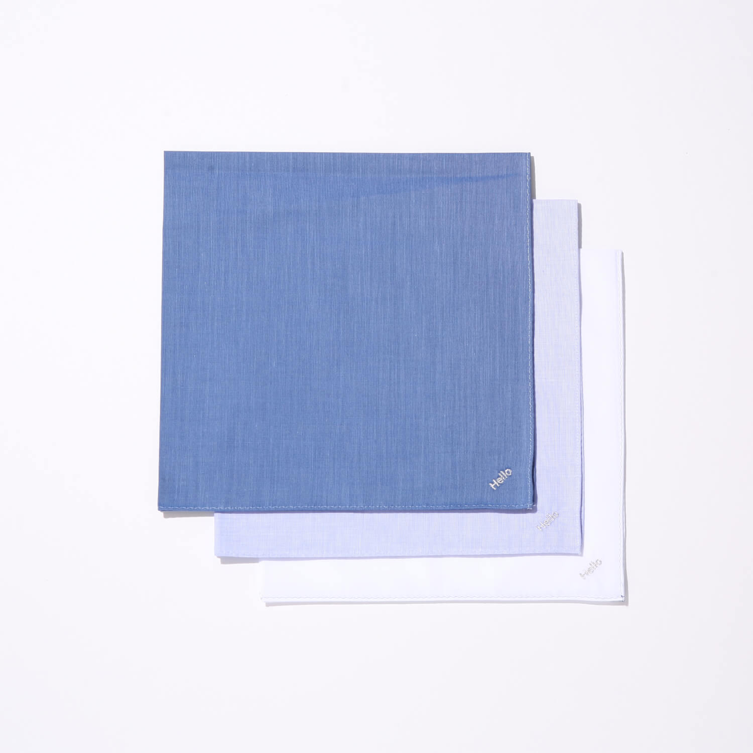 PLAIN HANDKERCHIEF  ¥900+tax/Drawing Numbers