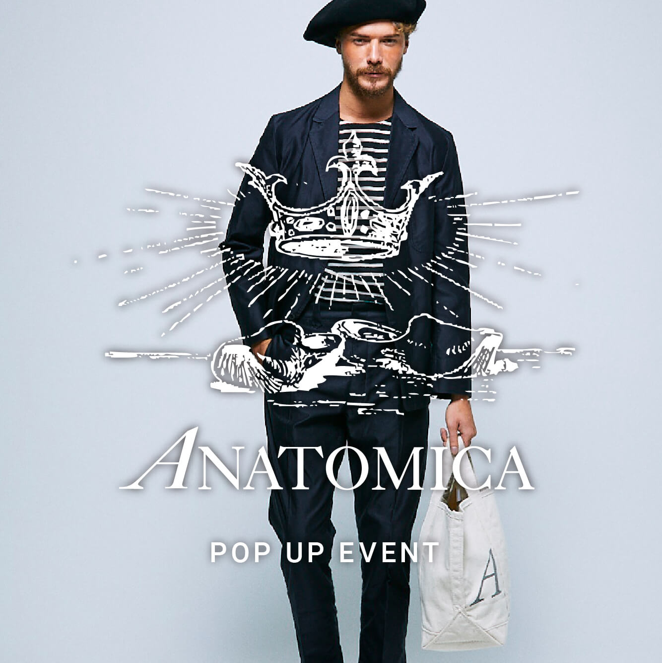 ANATOMICA POP UP EVENT START