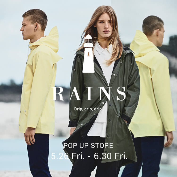 RAINS POP UP STORE