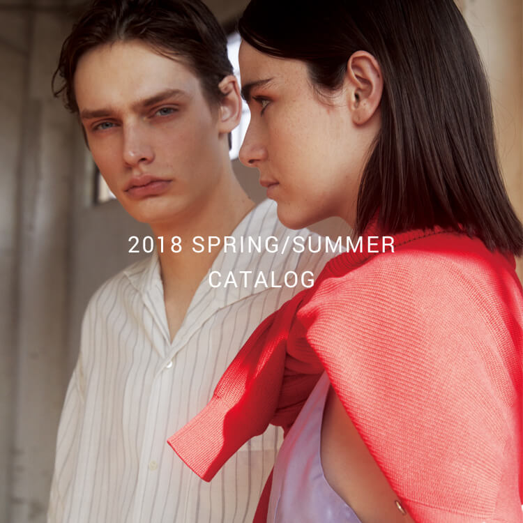 2018 SPRING/SUMMER CATALOG in store