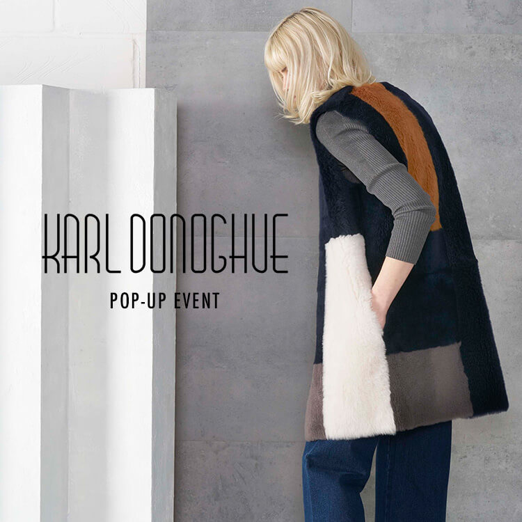 KARL DONOGHUE POP-UP EVENT