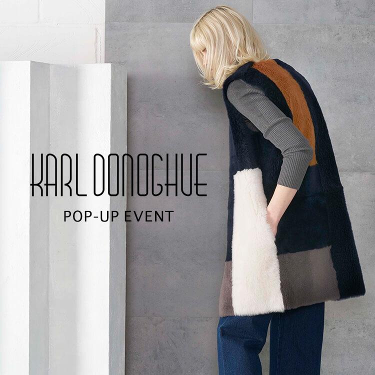 KARL DONOGHUE POP-UP EVENT