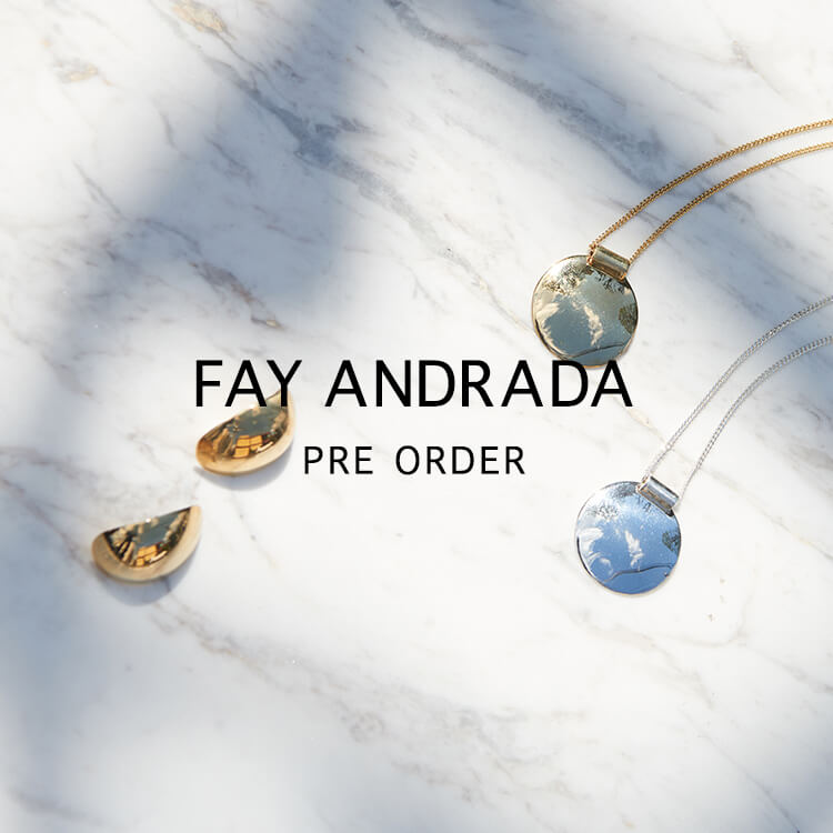 FAY ANDRADA PRE ORDER-online limited-
