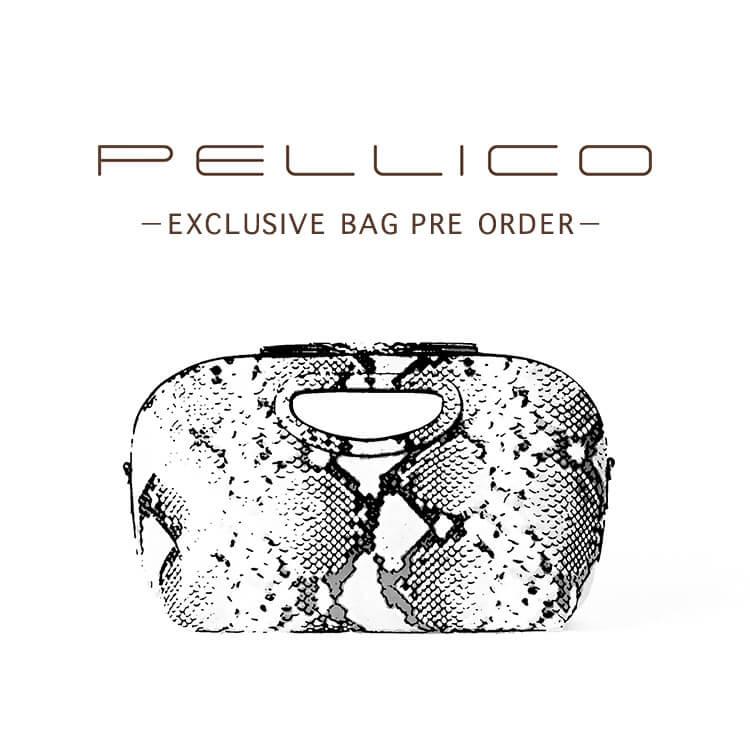 PELLICO-2019 A/W EXCLUSIVE BAG PRE ORDER-