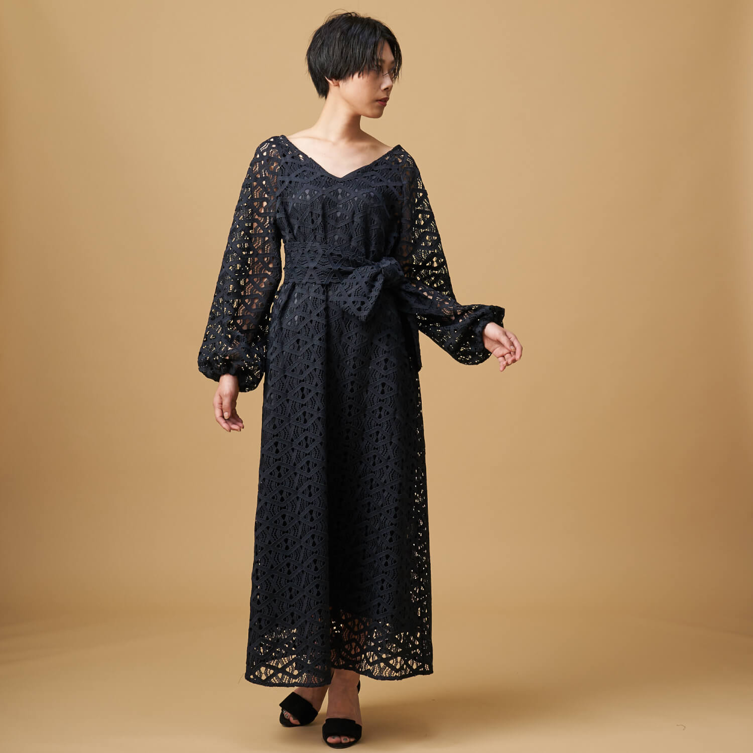 DRESS 46,000円+tax forget me not BY TINA CHAI