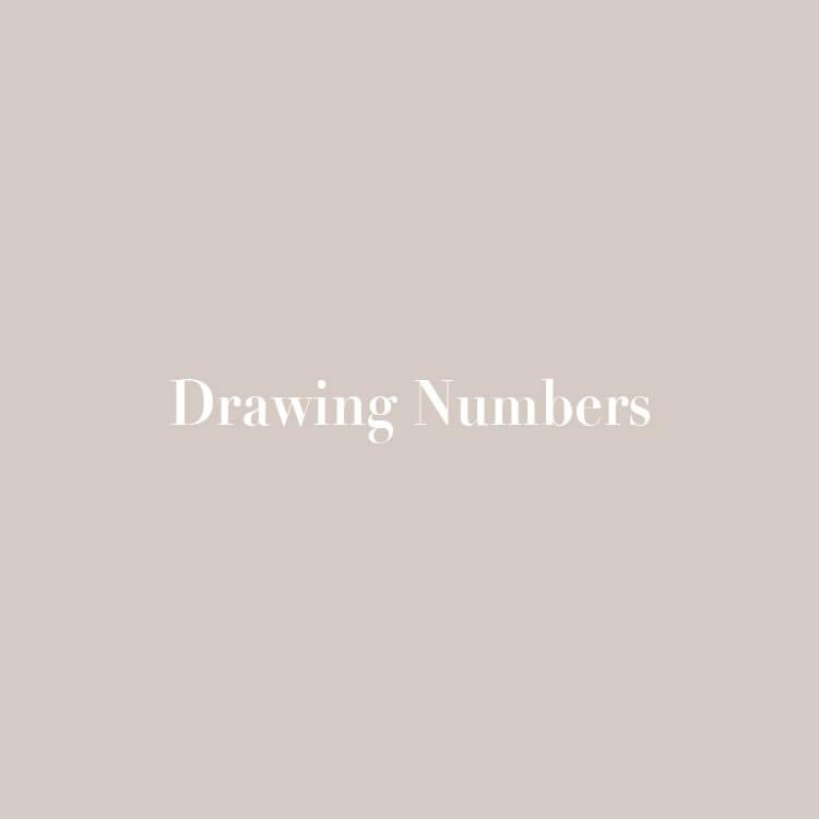 [Drawing Numbers]店舗営業再開のお知らせ