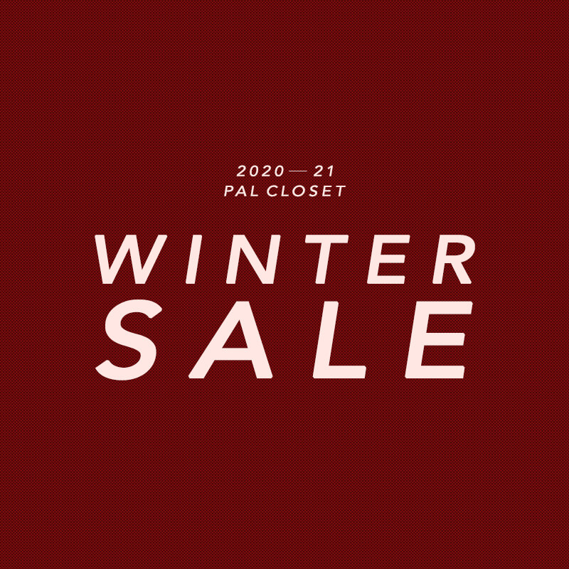 【PAL CLOSET】2020-21 WINTER SALE スタート!