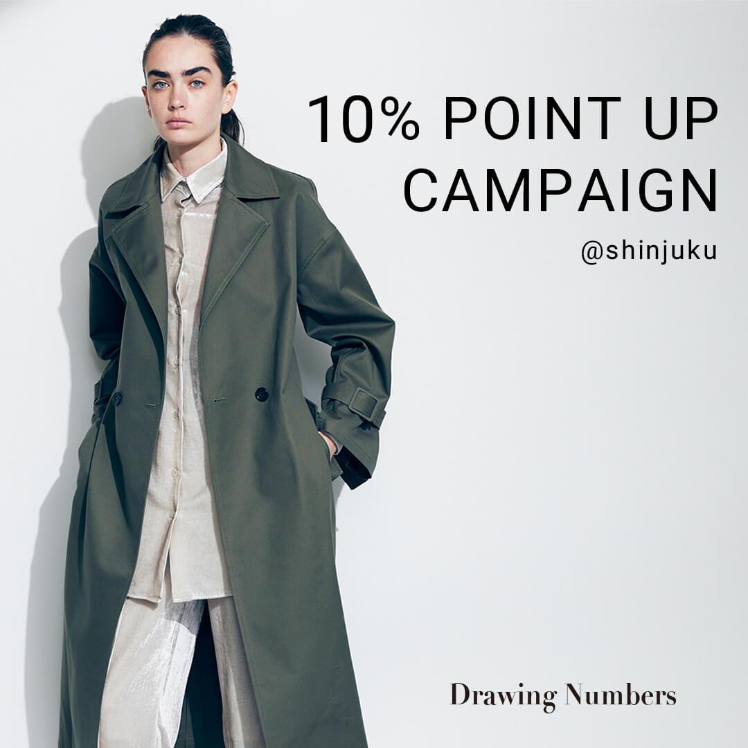 10% POINT UP CAMPAIGN、先行受注会開催 @shinjuku